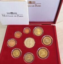 Monaco 2004 Official Euro Set 9 Coin Sainte Devote Limited Edition
