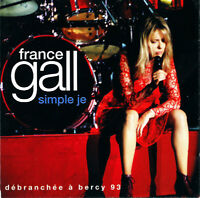 France Gall ‎CD Simple Je (Débranchée à Bercy 93) - France (M/M)