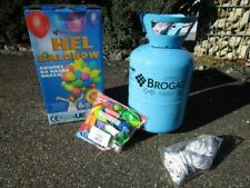 Helium Ballongas Einweg 50 Luftballons 40m Band D 20cm