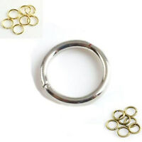 50-500Pcs Top Quality Jump Rings Very Strong Open Connector Jewelry DIY 4-14mm