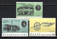 Grèce -Greece 1971 guerre d'indépendance Yvert n° 1063 à 1065 neuf ** 1er choix