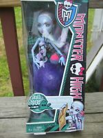 Mattel-Collectible MONSTER HIGH Doll- ABBEY BOMINABLE-NRFB- RETIRED!