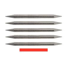 """PreGround TIG Tungsten Sharpened Electrodes Red 2%Thoriated 1/8"""" x 1.5"""" 5PK"""