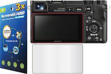 3x LCD Screen Protector for Sony Alpha NEX-7 NEX-6 A5000 A5100 A6000 A6300 A6500