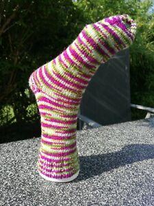 Socken handgestrickt/selbstgestrickt Größe 38/39 4 fädig bellalana