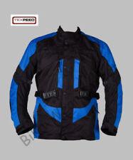 Blousons bleus coudes coude pour motocyclette