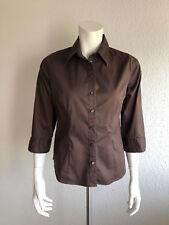 H&M Hemd Shirt braun 36