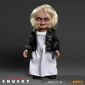 """Child's Play - Tiffany 15"""" Talking Action Figure Doll By MEZCO !!!!"""