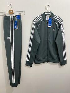 Adidas Originals Primeblue Superstar Tracksuit Blue Oxide White Size 2XL