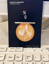 Caffe Latte  Magnetic Bookmark