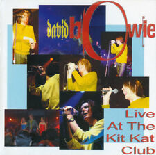 David Bowie - Cd - Live At The Kit Kat Club 1999 Hours Club Tour Fab Show