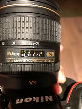 Nikon D810 36.3 MP DSLR Camera with AF-S ED VR 24-120mm Lens - Black