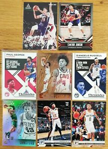 Lot 8 cartes PANINI CHRONICLES 2019-20 PACK FRESH Paul George & Rookie Cards