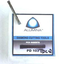 AUMINA PCD GROOVING INSERT TDC2 PD103