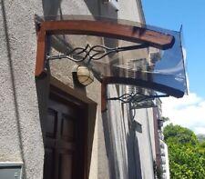 LOWCOST - Auvent de bois DIY Abris de porte -  LEGNO STELLA - Auvent en bois