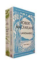 Robert Macfarlane 2 Books Landmarks + The Old Ways Walking Travel Books New