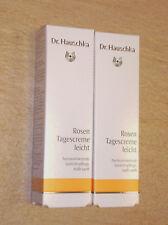 2 x Dr. Hauschka Rosen leicht Tagescreme, 2 x je 30 ml NEU und OVP, Rosencreme