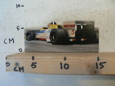 STICKER,DECAL CARBOARD STICKER BARCLAY MOBIL 1 NO 5 FORMULA ONE CAR