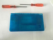 Austausch Ersatz Komplett Gehäuse für Nintendo DSi in Transparent Blau