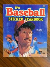 1987 Topps Major League Baseball Sticker Yearbook  **UNUSED**