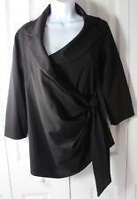 Isabella Oliver Maternity Women's 1 Black Wrap Jacket Blazer NWT