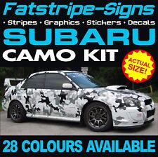 SUBARU CAMO GRAPHICS STICKERS STRIPES DECALS WRC WRX STI ESTATE IMPREZA TURBO