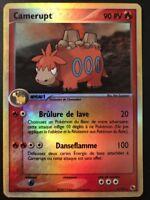Carte Pokemon CAMERUPT 4/109 HOLO REVERSE Rubis & Saphir Bloc EX FR