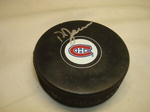 Doug Jarvis Signed Montreal Canadiens Hockey Puck Autographed 1A