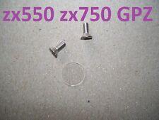 zx550 zx750 GPZ master cylinder sight glass lens window