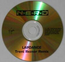 NERD  Lapdance  trent reznor remix Nine Inch Nails super rare! U.S. promo cd
