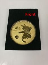 Dragon Ball Z Super Saiyan Son Gokou 30th Anniversary GOLD Metal Coin Collection