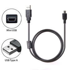 USB 2.0 A to Mini USB 5 Pin Data Cable for Garmin Oregon 400t 450 450t 550 550t