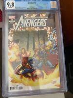 Avengers #10 CGC 9.8 700 variant Ron Lim Iron Man Captain America free shipping