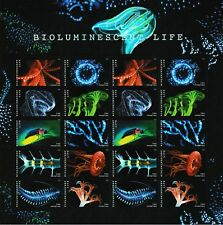 US 5264-5273 5273a Bioluminescent Life forever sheet MNH 2018