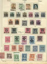 Poland stamps 1918 Collection of 46 stamps HIGH VALUE!