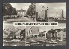 Berlin Postkarte Interhotel Unter den Linden Deutsche Staatsoper