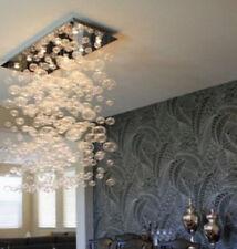 Modern LED bubble Glass Rain Drop Chandelier Ceiling Lights Dining Room Lamp S01
