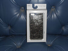 Apple iPhone 5 / 5S_Merona Crackled Foil Gunmetal Phone Case_New in Package