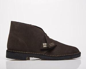 Clarks Originals Desert Boot Men's Brown Suede Casual Lifestyle Shoes Boots