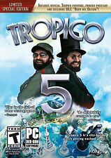 Tropico 5 PC Limited Special Edition Games Windows 10 8 7 XP Computer new sealed