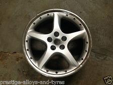 """1 x Jaguar 20"""" Detroit SILVER FRONT Alloy Wheel *Genuine* (X100 XK/XK8/XKR)"""