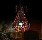 European Retro H*43CM D*25CM Metal+Acrylic Living Room Pendant/Hanging Light **