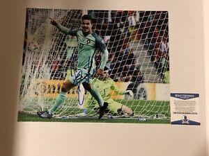 Andre Silva Portugal Sevilla Signed Autograph 11x14 Soccer Football