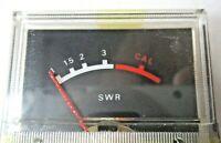 Navaho SWR Cal Meter 7A-21 Realistic TRC-457 Base Ham CB Radio TC Vintage