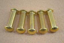 "Halter Bolt - 1"" - Solid Brass - Pack of 6 (F469)"