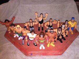 1990s WWF hasbro wrestling figures Lot Of 14 Tag Team Warrior Demolition Macho
