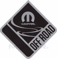 07-15 Jeep Wrangler New Mopar Off Road Chrome Emblem Nameplate Oem