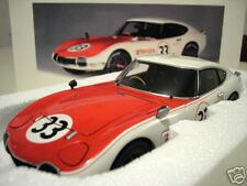 TOYOTA 2000 GT # 33 SCCA 1968 blanc/rouge 1/18 AUTOart 86816 voiture miniature
