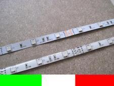1m LED STRIP STRISCIA RGB 30LED ROSSO VERDE BLU