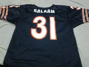 RASHAAN SALAAM #31 CHICAGO BEARS RETRO WILSON NFL JERSEY FREE SHIPPING
